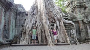 Ta Prohm - our favourite temple