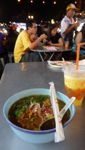 eating out - best Laksa in the world (Penang, Malaysia)