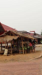 buying fruit at road stalls