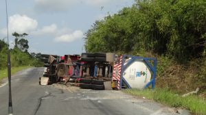 we see quite a few accidents on the roads in Cambodia