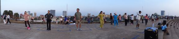 Cambodia - Olympic Stadium in Phnom Penh