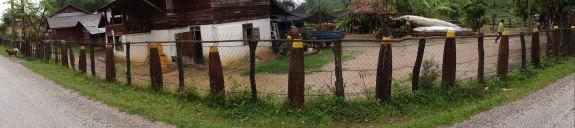 Laos - bomb village