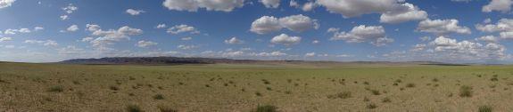 emptiness in the Gobi Desert