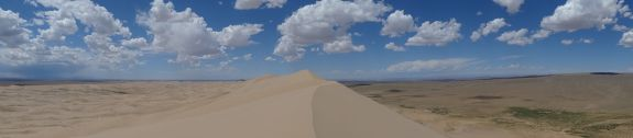 sand dunes in the Gobi Desert