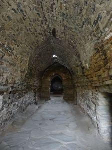 the entrance hall to Tash Rabat