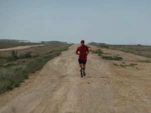 running in Kazakhstan...