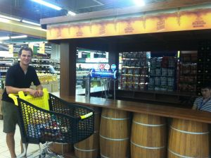 bar in the supermarket, why haven't we got those yet?