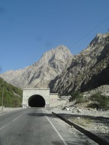 the start of the tunnel of death - looks like any other tunnel