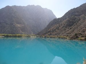 Iskander Kul lake - the colour is just amazing