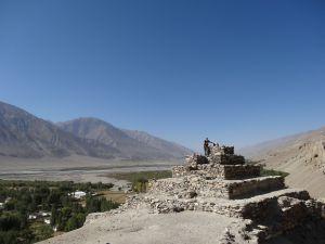 buddhist stupa in Vrang