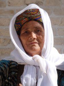 Uzbek lady