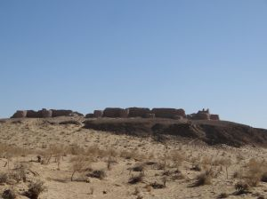 Ayaz Qala, one of many ancient fortresses, some as old as the 4th century BC