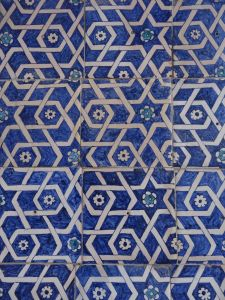 one example of the blue tiling, isn't it simply spectacular?