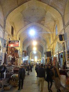 the stunning bazaar in Shiraz