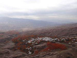autumn colours in Alamut