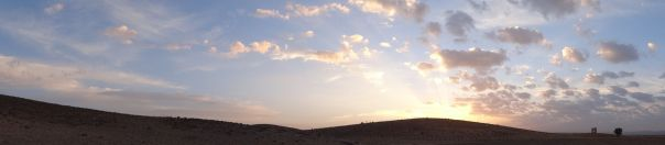 Pasargadae - view from our campsite over the ruins at Pasargadae