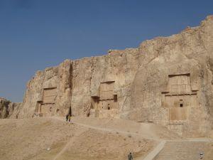 rock tombs Naqsh-e Rostam - near Persepolis