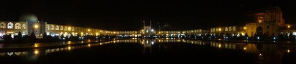 Esfehan - Imam Square reflections at night