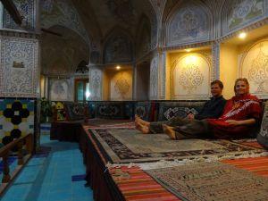 old restored hammam in Kashan