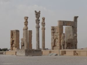 Xerxes' Gateway (Gate of all Nations) at the top of the Grand Stairway