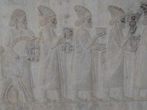 incredible reliefs on the Apadana staircase