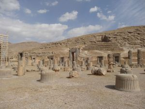 not much left after Alexander the Great torched the place