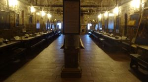 the old refectory (dining hall for monks), now a small museum