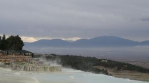 Pammukale means 'cotton candy' in Turkish