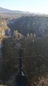The impressive Škocjan Caves in the Slovenian karst region