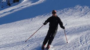 We still remember how to ski....
