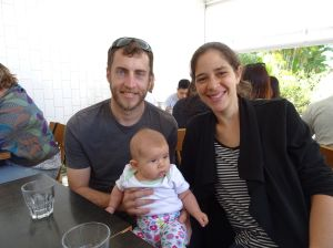 farewell lunch with Anna, Tom and Millie