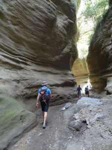 great gorge in Hell's Gate