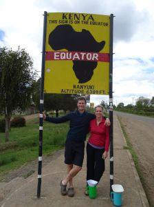 the equator is not far from us