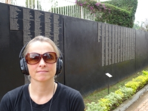 more than 250.000 people killed during the 100 days of genocide are buried at the memorial centre
